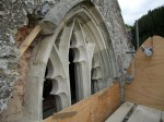 Brighstone St Marys Fixing Tracery