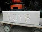 Hand Carved The Bays (Boys)